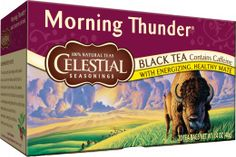 Start your day with a little Morning Thunder. Good with a packet of sugar and a bit of cream or milk.
