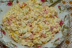 Těstovinový salát je klasika, kterou jistě potěšíte každého. Vyzkoušejte místo klasických těstovin použít čínské nudle.