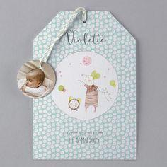 """Découvrez la collection de faire-part """"Les Petits Dodos"""" avec Faire-Part Créatif ! Une jolie façon d'annoncer l'arrivée de bébé tout en douceur ! #moulinroty #fairepart #naissance #bébé #grossesse"""