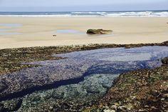 Playa de Liencres - Cantabria , sitio mágico , playa maravillosa con rocas ideales para crear fotografías con texturas .