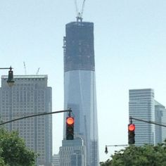 Building The Freedom Tower, NYC :)