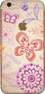 Capinha para celular - Flores e Borboletas