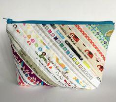 selvedge zipper pouch