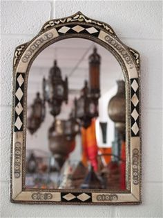 mirror 40 x 60. moroccan mirror approx height: 75 cm width: 49 (also available in 40 x - 60