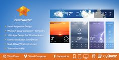 Better Weather v3.1 - WordPress and Visual Composer Widget