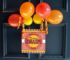 Fireman Birthday Party | That Cute Little Cake | door sign