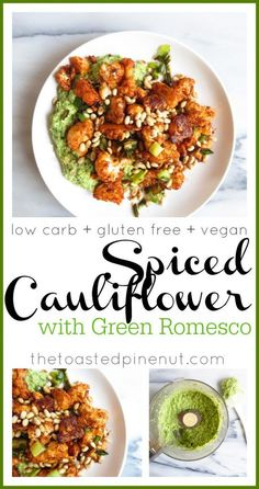 The most flavorful and amazing low carb, gluten free, and vegan dish. You can thank me later!! Bursting with flavor, I literally didn't want it to end!