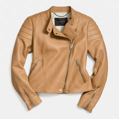 The Refined Moto Jacket from Coach$1195
