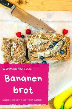 Bananenbrot ist ein super Snack und schmeckt extrem lecker. Durch das Backen wirken Bananen laut der TCM für den Körper nicht so verschleimend. #bananenbrot #bananenbrotohnezucker #bananenbrotgesund #bananenbrotrezept #bananenbrotsaftig Super, Foodblogger, Tricks, Fitness, Food And Drinks, Sugar Free Banana Bread