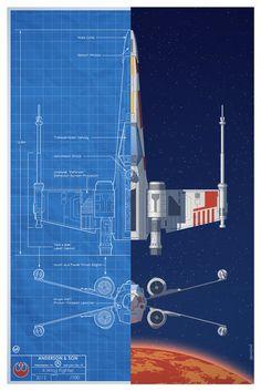 blueprint - X-Wing