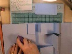 Gatefold Tri Shutter Mini Album Tutorial - YouTube