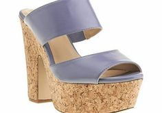 schuh Light Purple Dream On High Heels If your feet fancy shacking up with these beaut heels from schuh, they definitely wont tell them to Dream On. With pastel purple, thick straps and a chunky 14cm cork heel with a 5cm platform these ar http://www.comparestoreprices.co.uk/womens-shoes/schuh-light-purple-dream-on-high-heels.asp