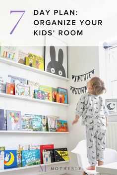 Declutter, organize, rearrange and decorate. Your 7 day plan to a dreamy kids room. Kids Room Organization, Playroom Ideas, Starter Home, Toy Rooms, Repurposed Items, Day Plan, Our Baby, Little Babies, Declutter