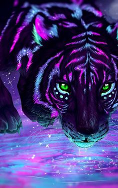 Pin by r on Hintergrund Tier Wallpaper, Wolf Wallpaper, Animal Wallpaper, Neon Wallpaper, Mythical Creatures Art, Fantasy Creatures, Cute Animal Drawings, Cute Drawings, Anime Animals