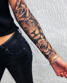 Irezumi tattoos sleeve tattoos for women full, womens half Feminine Tattoo Sleeves, Feminine Tattoos, Trendy Tattoos, Sexy Tattoos, Body Art Tattoos, Tattoos For Guys, Cool Girl Tattoos, Leo Lion Tattoos, Dope Tattoos For Women