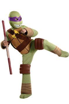 Teenage Mutant Ninja Turtles Deluxe Donatello Child Costume #Halloween #costumes #tmnt
