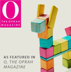 Adorable llama (or horse?) from Tegu Toys, and also featured in the Oprah magazine