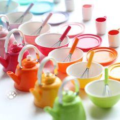 Miniature kitchen ware