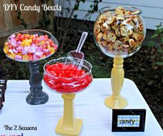 DIY Candy Dishes