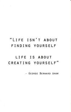 Create a life you wa