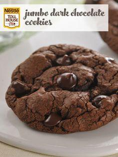 Jumbo Dark Chocolate Cookies