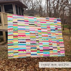 crazy mom quilts: candy coated III