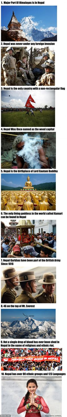 NEPAL Unknown facts about an unknown country!