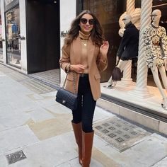 Classy Winter Outfits, Winter Fashion Outfits, Cute Casual Outfits, Look Fashion, Autumn Fashion, Glamouröse Outfits, Fall Outfits, Look Blazer, Elegantes Outfit
