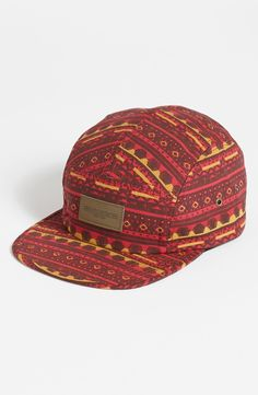 Obey 'Marrakesh' 5 Panel Hat