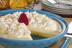 Crustless Lemon Cream Pie | MrFood.com