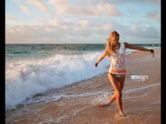 Roxy surfing poster/ads - roxy Wallpaper