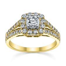 Designer Vintage Engagement Rings at Robbins Brothers