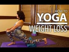 Beginners Yoga For Weight Loss - Focus on Butt & Thighs Yoga Flow! - YouTube