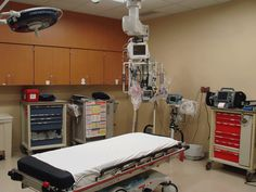 Renovated trauma room in Mercy's ER