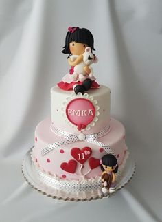 B-day cake for Ema by Katka
