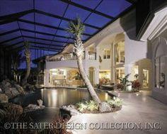 beautiful patio space