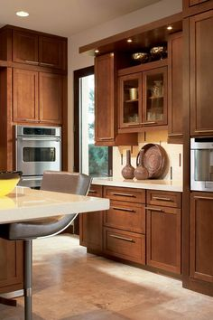 Waypoint Living Spaces   Style 630F in Cherry  Chocolate Glaze