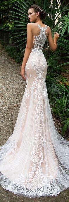 Wedding Dress by Milla Nova White Desire 2017 Bridal Collection - lace bodycon A-line elegant luxury dress