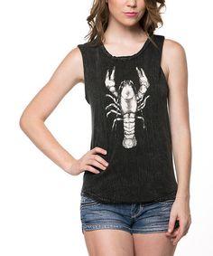 Love this Black Lobster Hi-Low Tank on #zulily!  16.99 #zulilyfinds