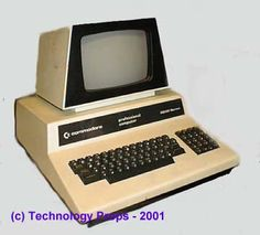 OMG look at this dino...a 70's computer!