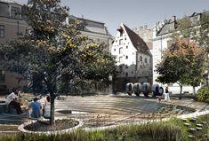 U-R-A's Alberta Square Renovation in Latvia Evokes Maritime and Beverage History