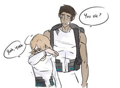 AU where instead of Lance being paired with Hunk in Season 2, he's paired with Pidge. I like this idea mostly because from the previews it looks like Pidge is alone again, and Pidge has BEEN THROUGH...