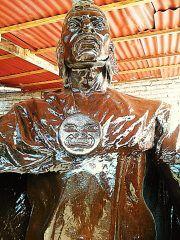 ROSTRO MAYTA CAPAC ARTISTICO bronce 00222