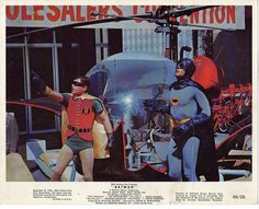 Batman 1966 Lobby Card