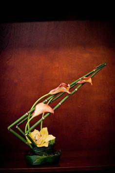 very structured, architectural Ikebana Flower Arrangement, Ikebana Arrangements, Beautiful Flower Arrangements, Floral Arrangements, Beautiful Flowers, Flower Show, Flower Art, Cactus Flower, Ikebana Sogetsu