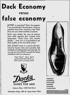 Dack's Value for Price (circa 1934)
