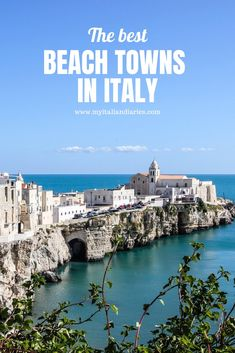 Travel Tips For Europe, Italy Travel Tips, Best Places To Travel, Beautiful Places To Visit, Cool Places To Visit, Amazing Places, Italy Destinations, Italy Holidays, Beach Town