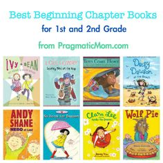 best easy chapter books, best beginning chapter books, best early chapter books, 1st grade books for kids, 2nd grade chapter books, 1st grad...