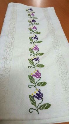 Flores [] #<br/> # #Cross #Stitch,<br/> # #Cross #Stitch,<br/> # #Flowers<br/>