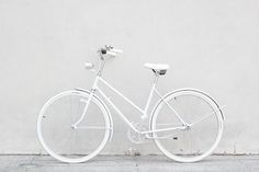 White bike inspiration for the Torch Apparel T2 White Helmet